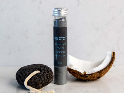 Scrubby-Charcoal-Masque with coconut and pumice