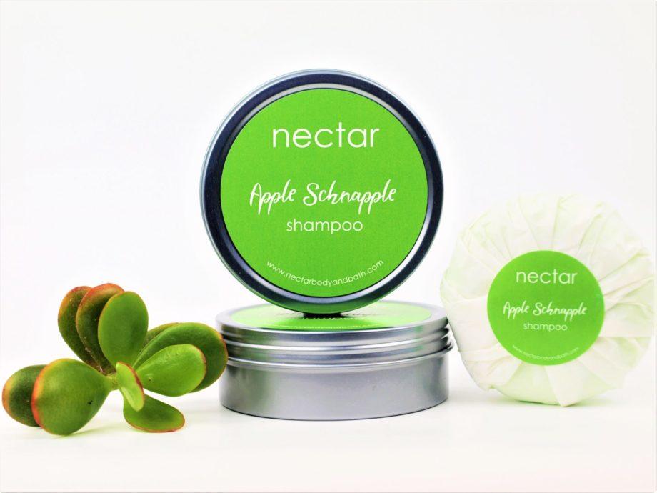 apple shampoo bar tin