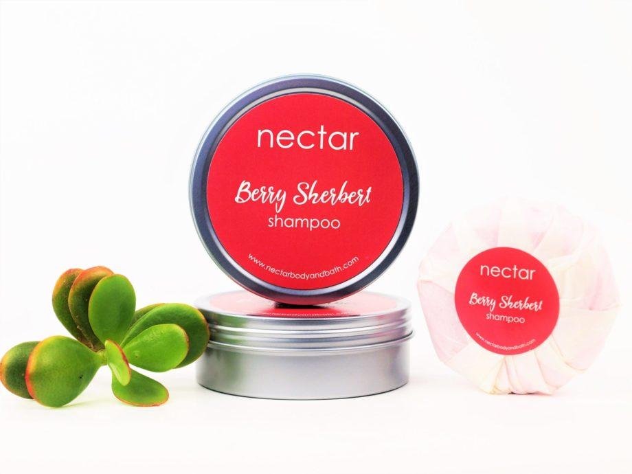 berry shampoo tin