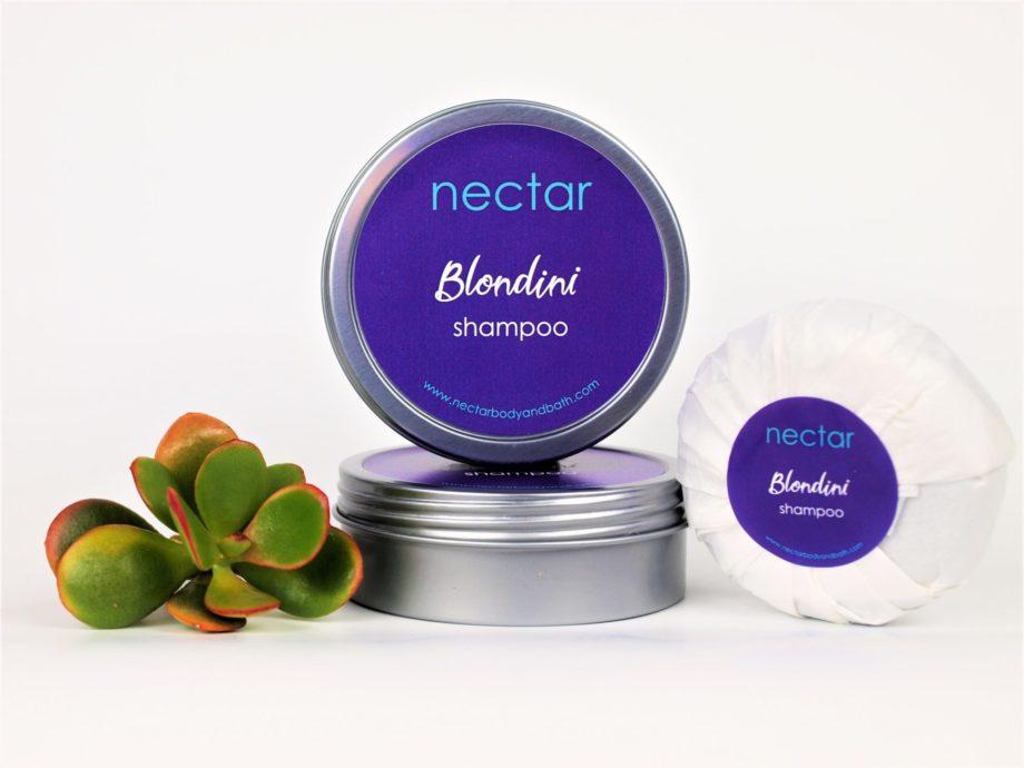 purple shampoo tin