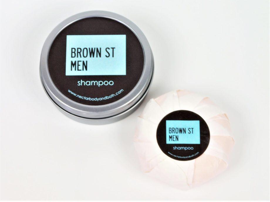 tin shampoo bar and refill on white