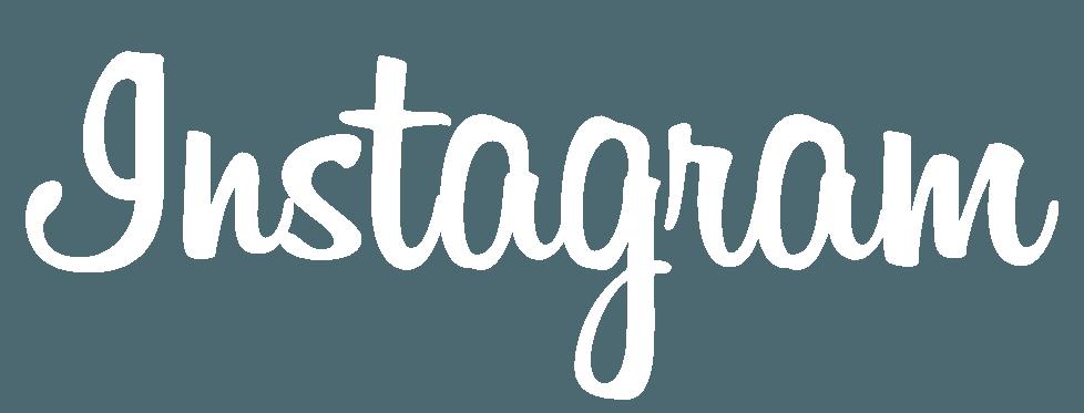 instagram logotype white