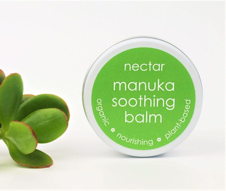 manuka balm and plant