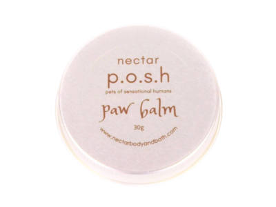 paw balm posh closed tin only