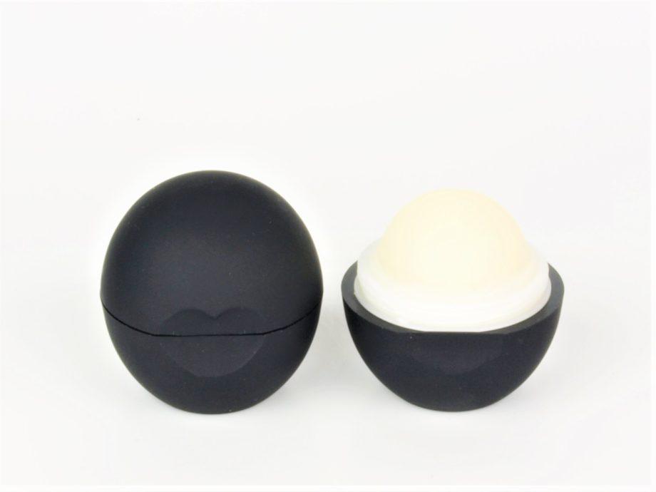 open organic mint lip balm ball